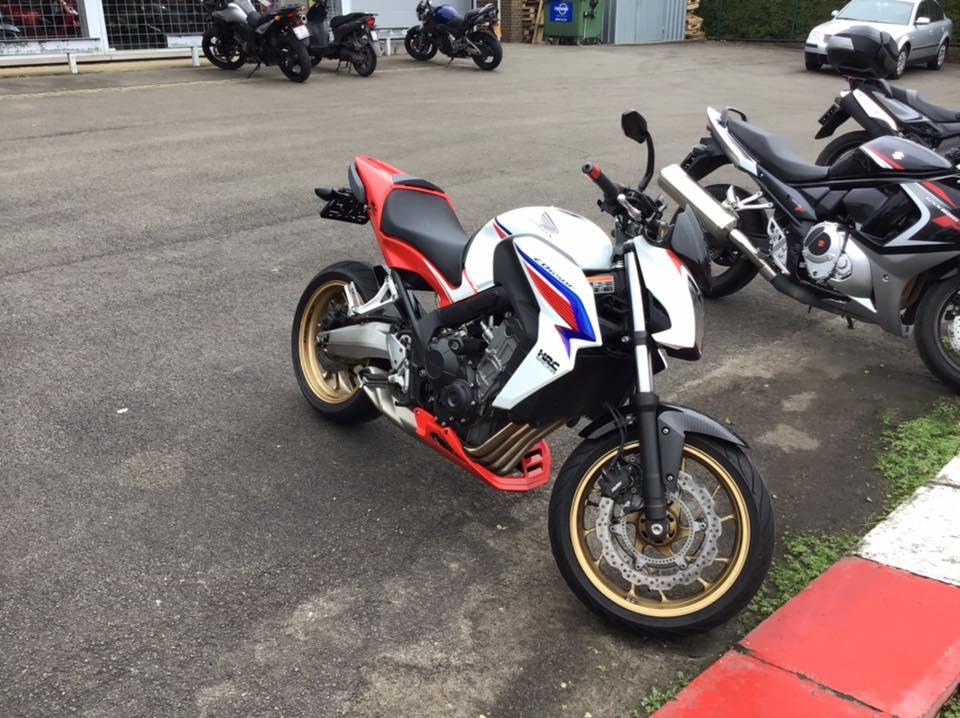 Honda CB650F à vendre