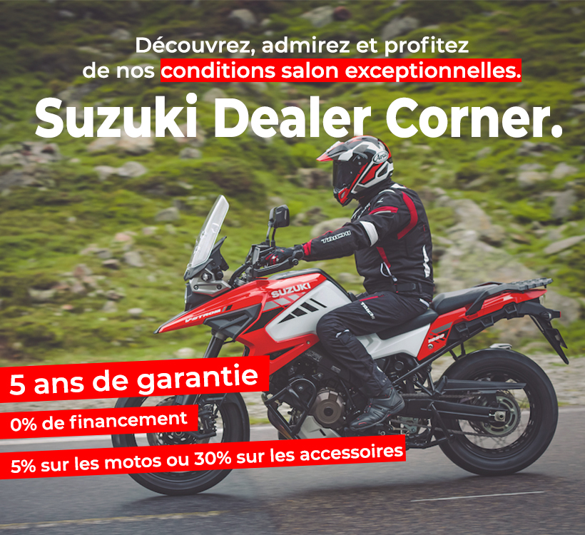 Conditions salon Suzuki Salon de l'Auto 2020