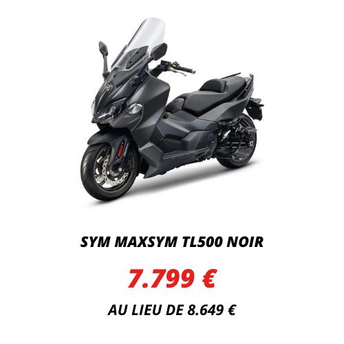 Sym Maxsym TL500 Noir