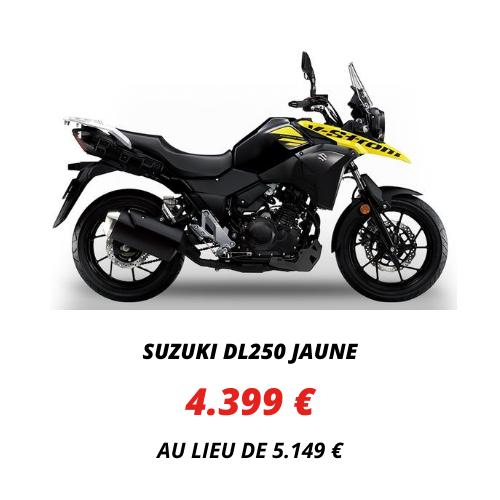 Suzuki DL250 Jaune