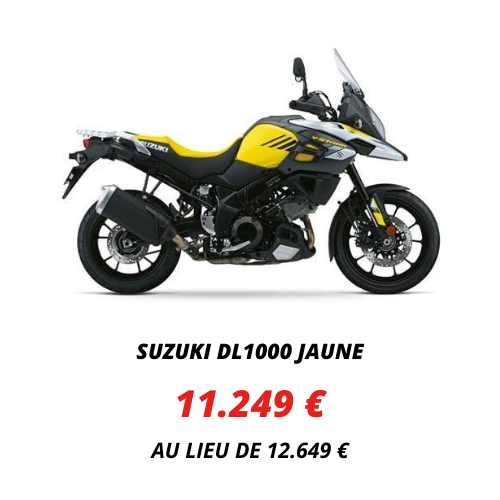 Suzuki DL1000 Jaune